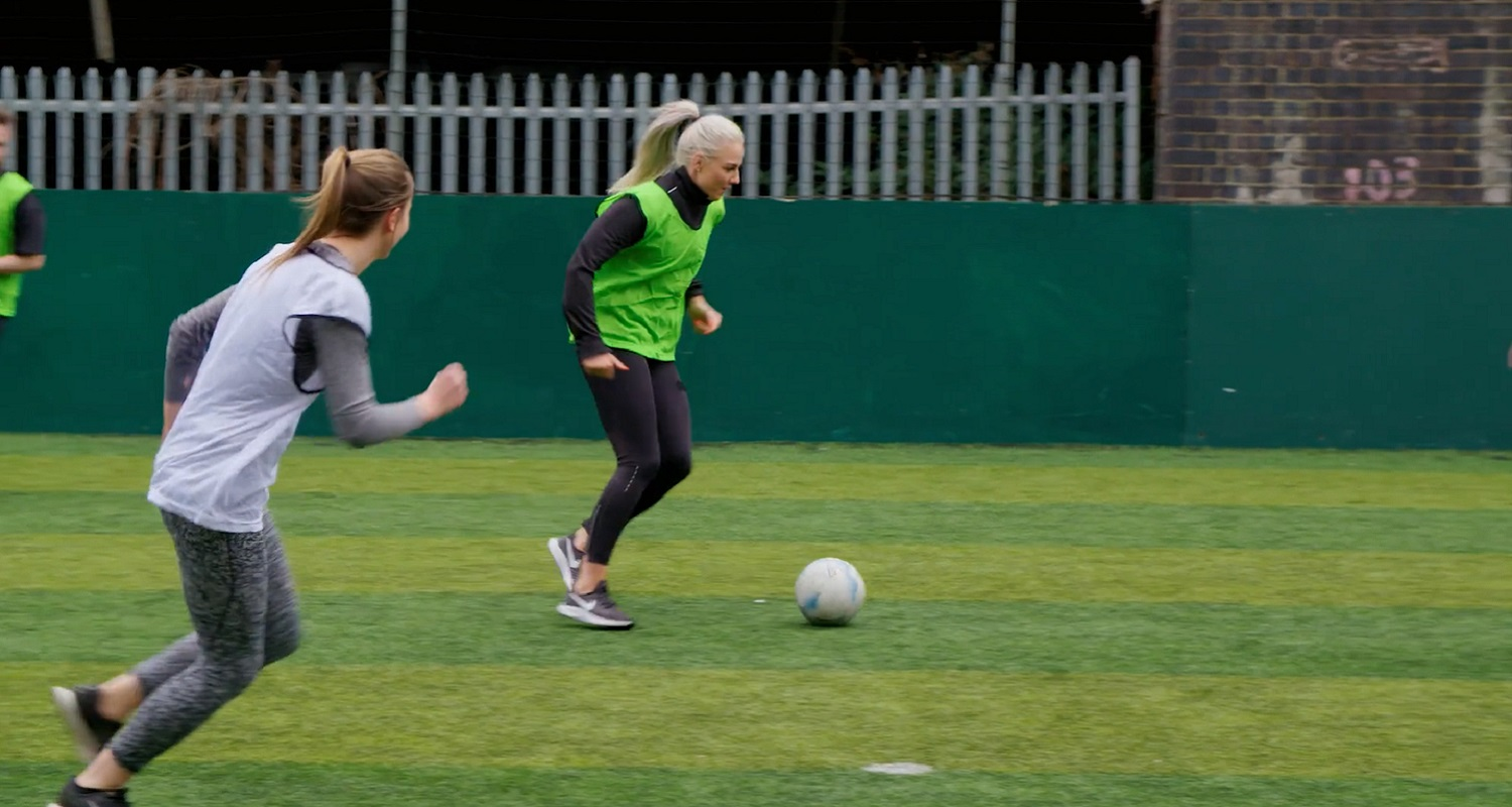 Women are half as likely to engage with the women's game as menare survey reveals